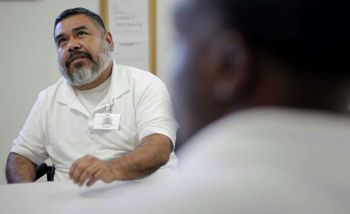 Rik Ramon was sent to the Atascocita facility after being convicted on a drunken driving charge. The 52-year-old has spent about three months there, learning about helping others.