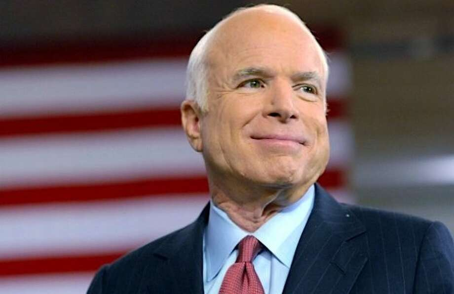 John McCain died Saturday at the age of 81. >> See messages of sympathy and condolences that are flooding social media...