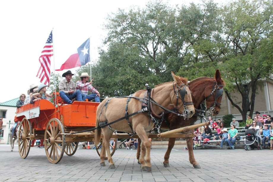 The 52nd Annual Go Texan Parade will be at 1 p.m.  Feb. 25 in downtown        Conroe. Photo: Meagan Ellsworth
