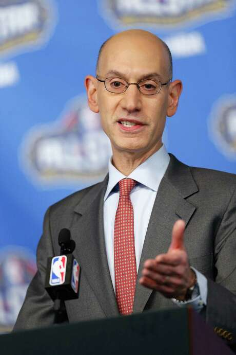 NEW ORLEANS, LA - FEBRUARY 18:  NBA Commissioner Adam Silver speaks with the media during a press conference at Smoothie King Center on February 18, 2017 in New Orleans, Louisiana. NOTE TO USER: User expressly acknowledges and agrees that, by downloading and/or using this photograph, user is consenting to the terms and conditions of the Getty Images License Agreement.  (Photo by Jonathan Bachman/Getty Images) Photo: Jonathan Bachman, Stringer / 2017 Getty Images