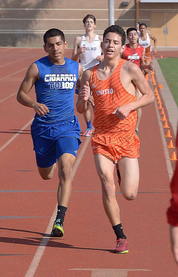 At the Javelina Invitational in Kingsville on Saturday, United's Nick Martinez won the boys event while Martin's Samantha Gonzalez took first over the girls' field. Lady Toro runner Alexa Reyes also finished seventh. Photo: Cuate Santos /Laredo Morning Times File / Laredo Morning Times