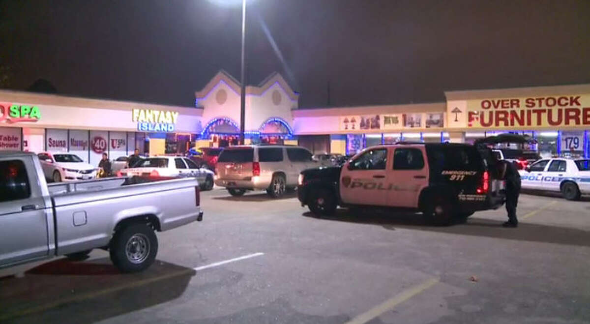 A shooting at Fantasy Island drew police to the scene before 6 a.m. Sunday.