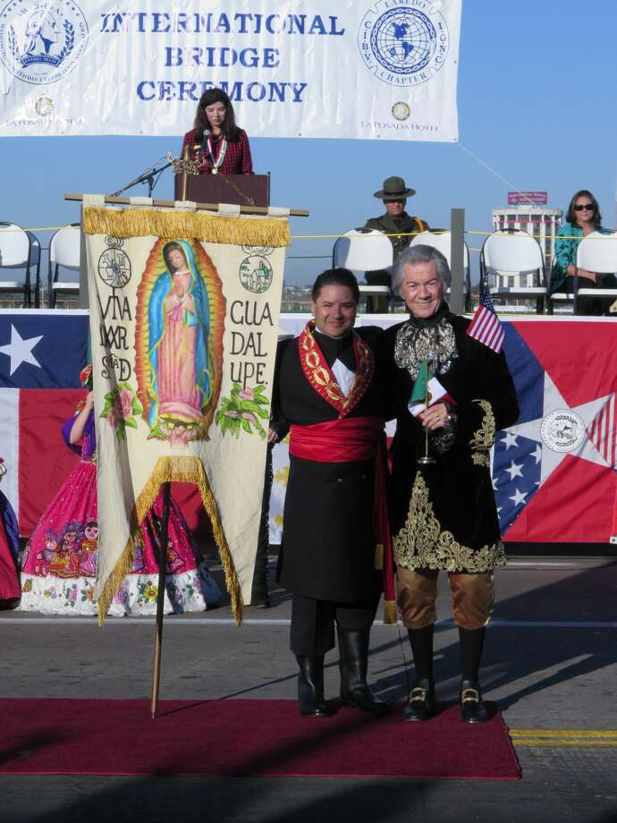 The WBCA/IGNC International Ceremony, part of the 120th Washington's Birthday Celebration, was held Saturday, Feb 18, 2017, at the Juarez-Lincoln International Bridge. Photo: Cuate Santos