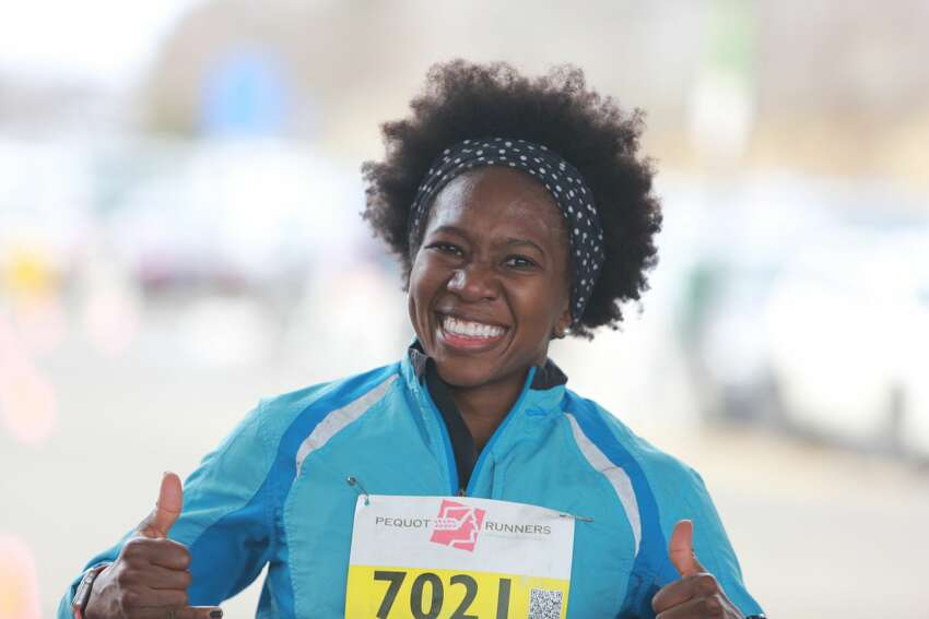 A Boston Buildup 20km was held at Tomlinson Middle School in Fairfield on February 19, 2017. Were you SEEN training for the Boston Marathon or cheering a runner on?