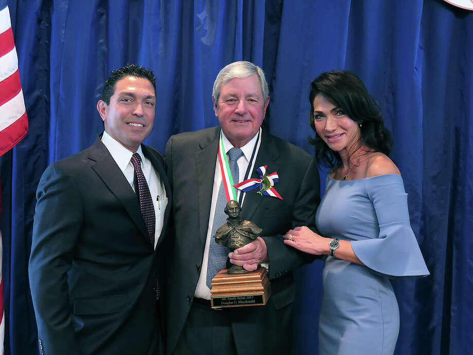 The 2017 WBCA Mr. South Texas Luncheon, honoring Douglas Macdonald, was held at the Laredo Country Club on Saturday, February 18, 2017. Photo: Cuate Santos