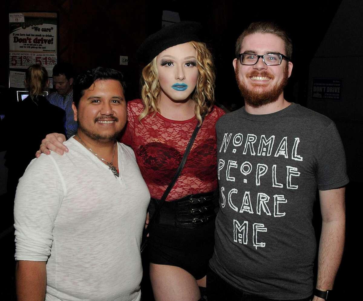 Fans at the RuPaul's Drag Race stars Alaska and Sharon Needles show at South Beach Saturday Feb. 18, 2017.(Dave Rossman photo)