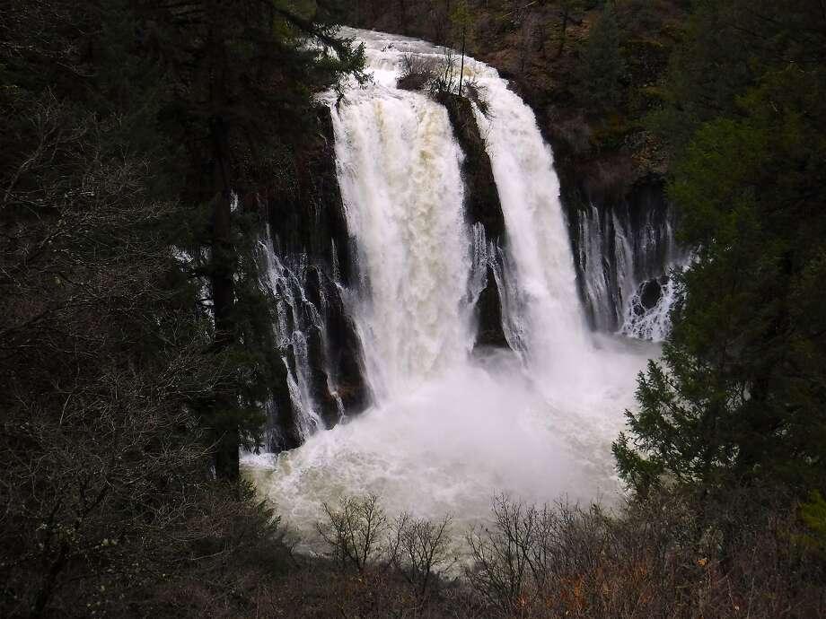 Burney Falls Winter