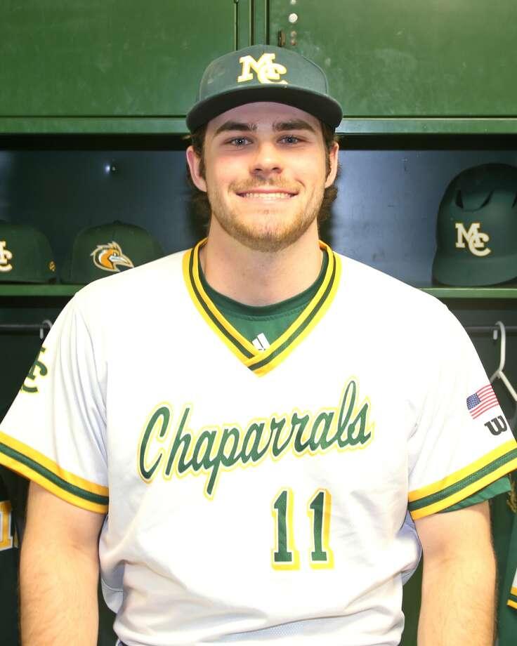 Midland College baseball player Hill Alexander Photo: Forrest Allen
