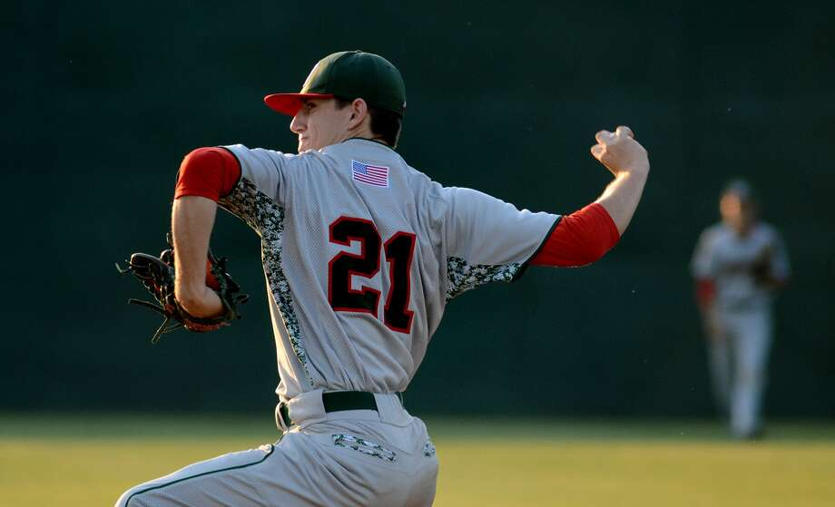 Players such as The Woodlands pitcher Devin Fontenot, with only four days of rest, can throw no more than 110 pitches before pitching again. The new rules will work to help prevent the practice of overusing high school athletes. Photo: Jerry Baker, Freelance