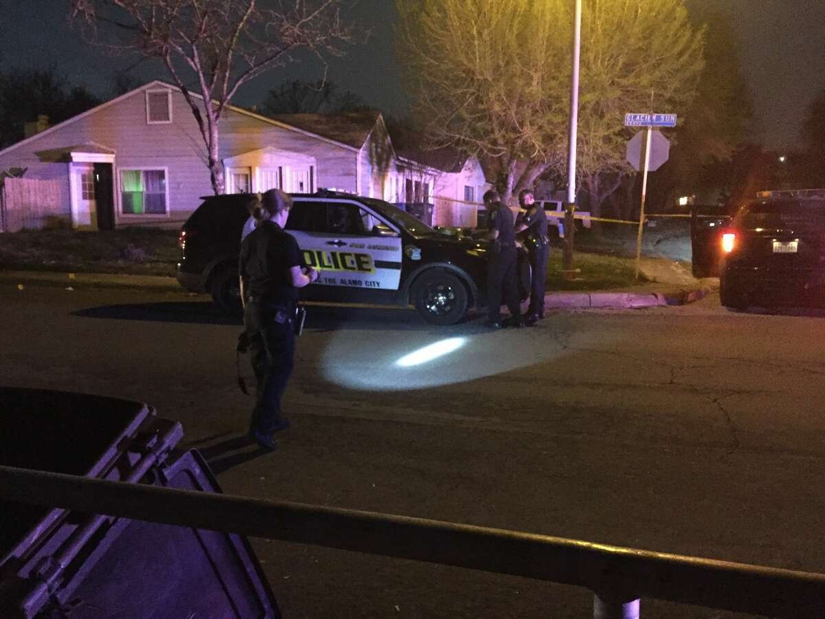 San Antonio police say two minors were injured in a shooting Sunday evening, Feb. 29, 2017, on the Northeast Side.