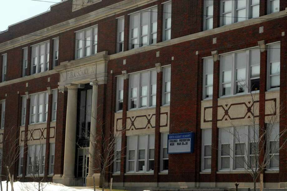 TIMES UNION STAFF PHOTO--MICHAEL P. FARRELL--Albany Public School North albany Academy  on North Pearl Street in Albany, New York 3/22/2007 ( W/story) Photo: MICHAEL P. FARRELL / ALBANY TIMES UNION