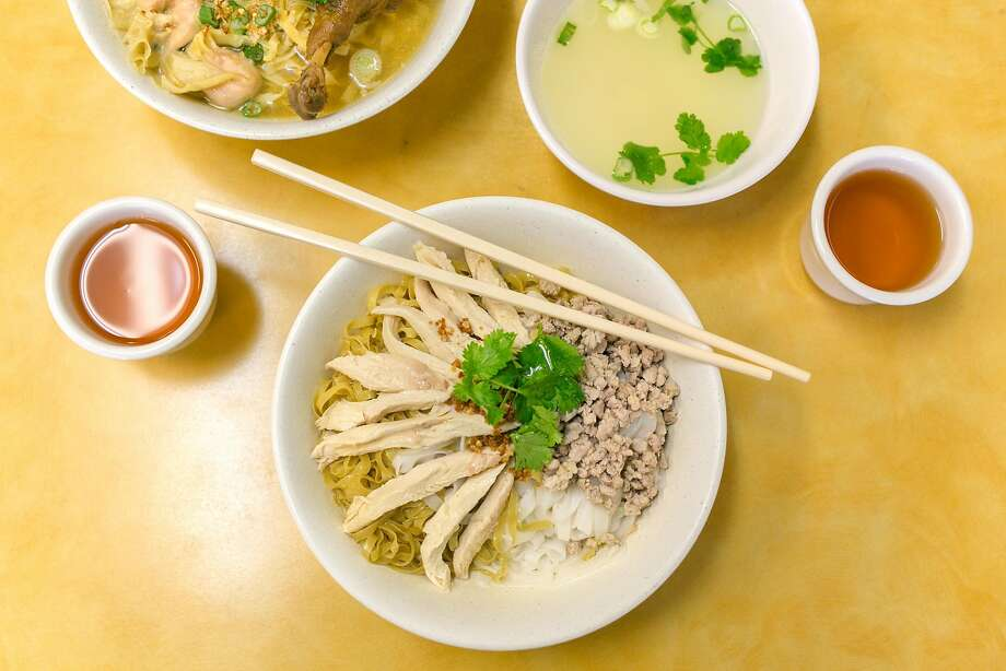 Teochew noodles from Hai Ky Mi Gia in San Francisco's Tenderloin evoke nostalgic memories for food writer Chris Ying. Photo: Jen Fedrizzi, Special To The Chronicle