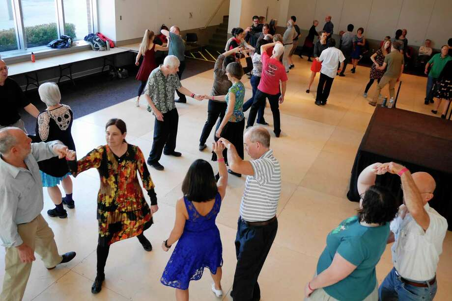 Attendees to Dance Flurry take part in the Techniques for Swing Dancing workshop on Sunday, Feb. 19, 2017, in Saratoga Springs, N.Y.     (Paul Buckowski / Times Union) Photo: PAUL BUCKOWSKI / 20039720A