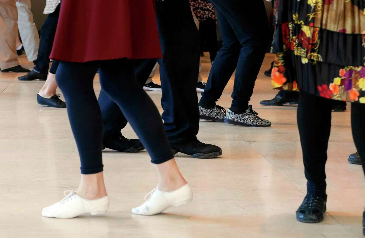 Attendees to Dance Flurry take part in the Techniques for Swing Dancing workshop on Sunday, Feb. 19, 2017, in Saratoga Springs, N.Y. (Paul Buckowski / Times Union)