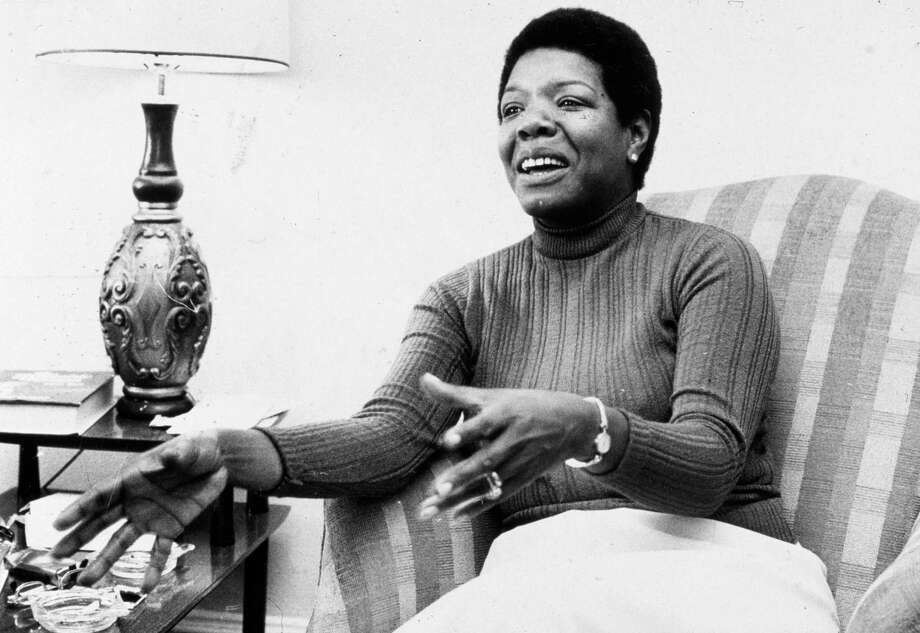 """Maya Angelou, shown around the early 1980s, is profiled in an """"American Masters"""" documentary. Photo: Jack Sotomayor, New York Times Co./Getty Images"""