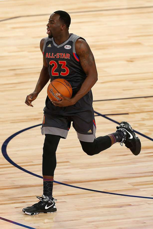 NEW ORLEANS, LA - FEBRUARY 19:  Draymond Green #23 of the Golden State Warriors handles the ball in the first half of the 2017 NBA All-Star Game at Smoothie King Center on February 19, 2017 in New Orleans, Louisiana. NOTE TO USER: User expressly acknowledges and agrees that, by downloading and/or using this photograph, user is consenting to the terms and conditions of the Getty Images License Agreement.  (Photo by Jonathan Bachman/Getty Images) Photo: Jonathan Bachman, Getty Images