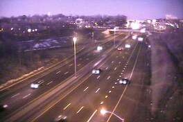 The area on I-95, near Exit 15, in Norwalk is usually jammed on a Monday morning, even near 6:30 a.m. That's not the case on Feb. 20, 2017 - Presidents Day.
