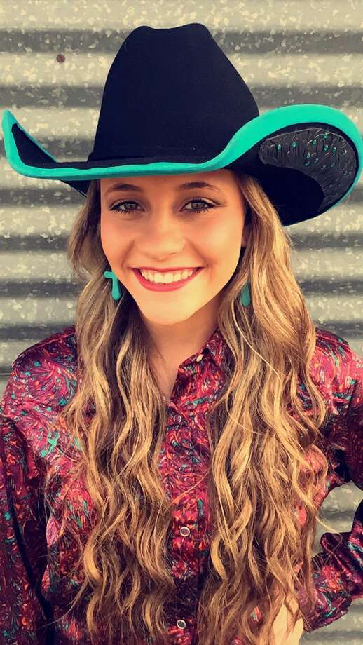 Alaina Williams is a contestant for Cleveland Livestock Show and Dairy Day Queen.  She attends Caney Creek High. Photo: Submitted