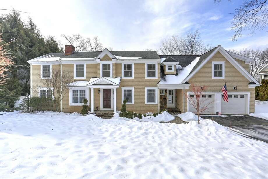 26 Webb Rd, Westport, CT 06880  5 beds 4 baths 3,613 sqft  Open house: 2/23/17 10am-12pm Features: Beamed ceiling, playroom, craft room, deck  View full listing on Zillow Photo: Zillow