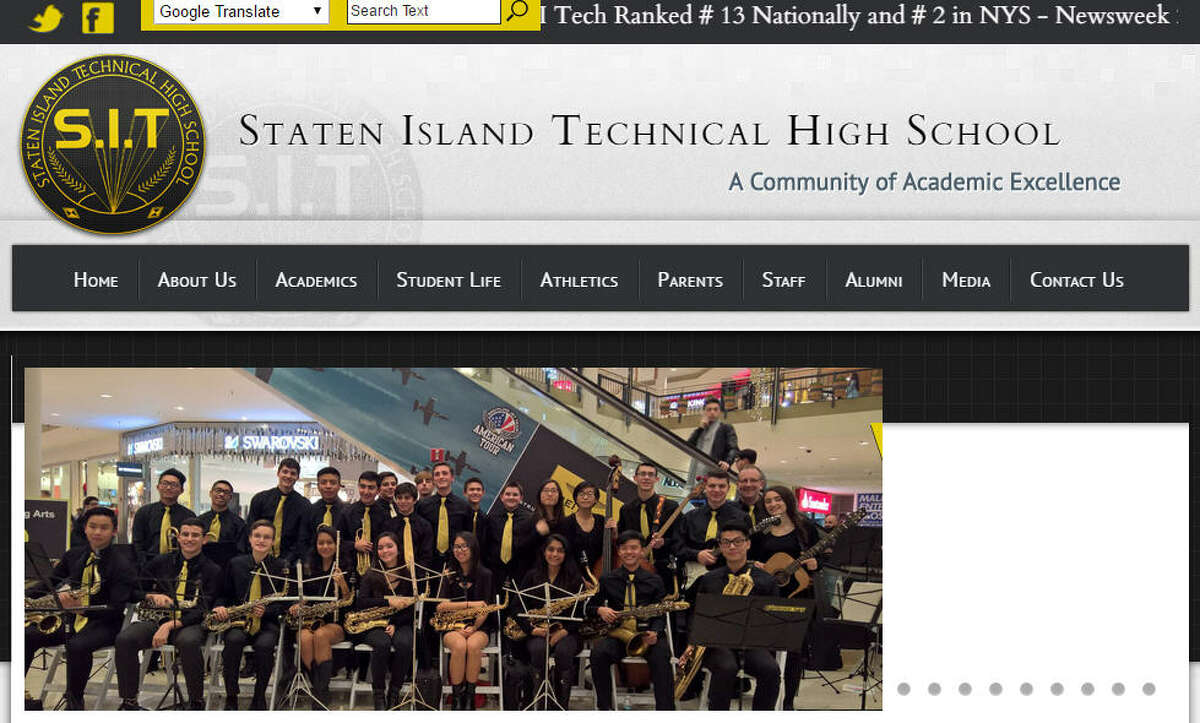 2. Staten Island Technical High School Staten Island, New York