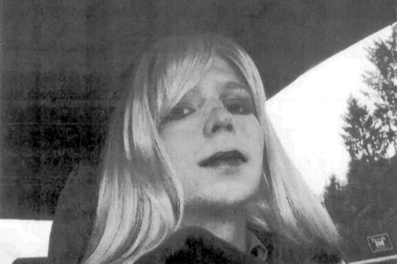 FILE - This undated photo provided by the U.S. Army shows Pfc. Chelsea Manning. For most Americans, Manning has been a hero or villain based on how they view her decision to leak classified material. For transgender people, she has another dimension _ serving as a potent symbol of their struggles for acceptance. With the commutation of her prison sentence by President Barack Obama, now set for release in May 2017, she and will re-enter a society bitterly divided over many aspects of transgender rights. (AP Photo/U.S. Army, File)