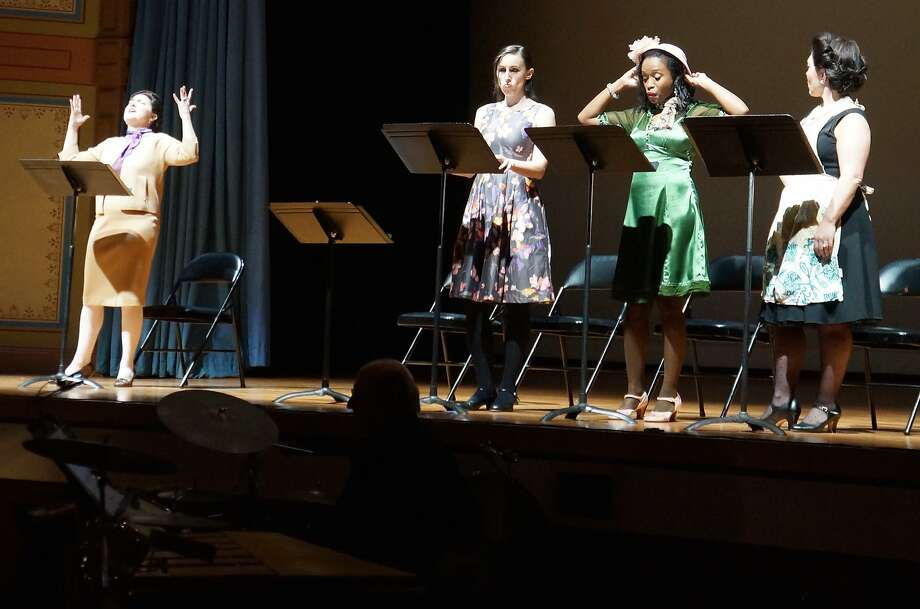"""Stephen Eddins' and Michael O'Brien's """"Why I Live at the P.O."""" is a jazzy adaptation of Eudora Welty's comic gem. Photo: Courtesy West Edge Opera"""