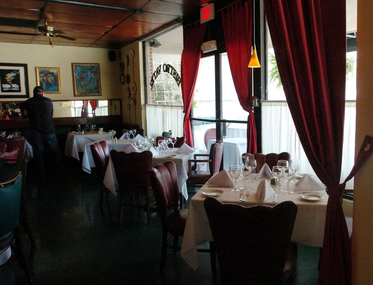 Interior of Chez Vatel Bistro
