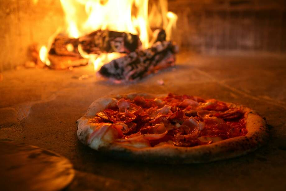 Pork Love pizza from Dough Pizzeria Napoletana Photo: Express-News File Photo / Courtesy photo