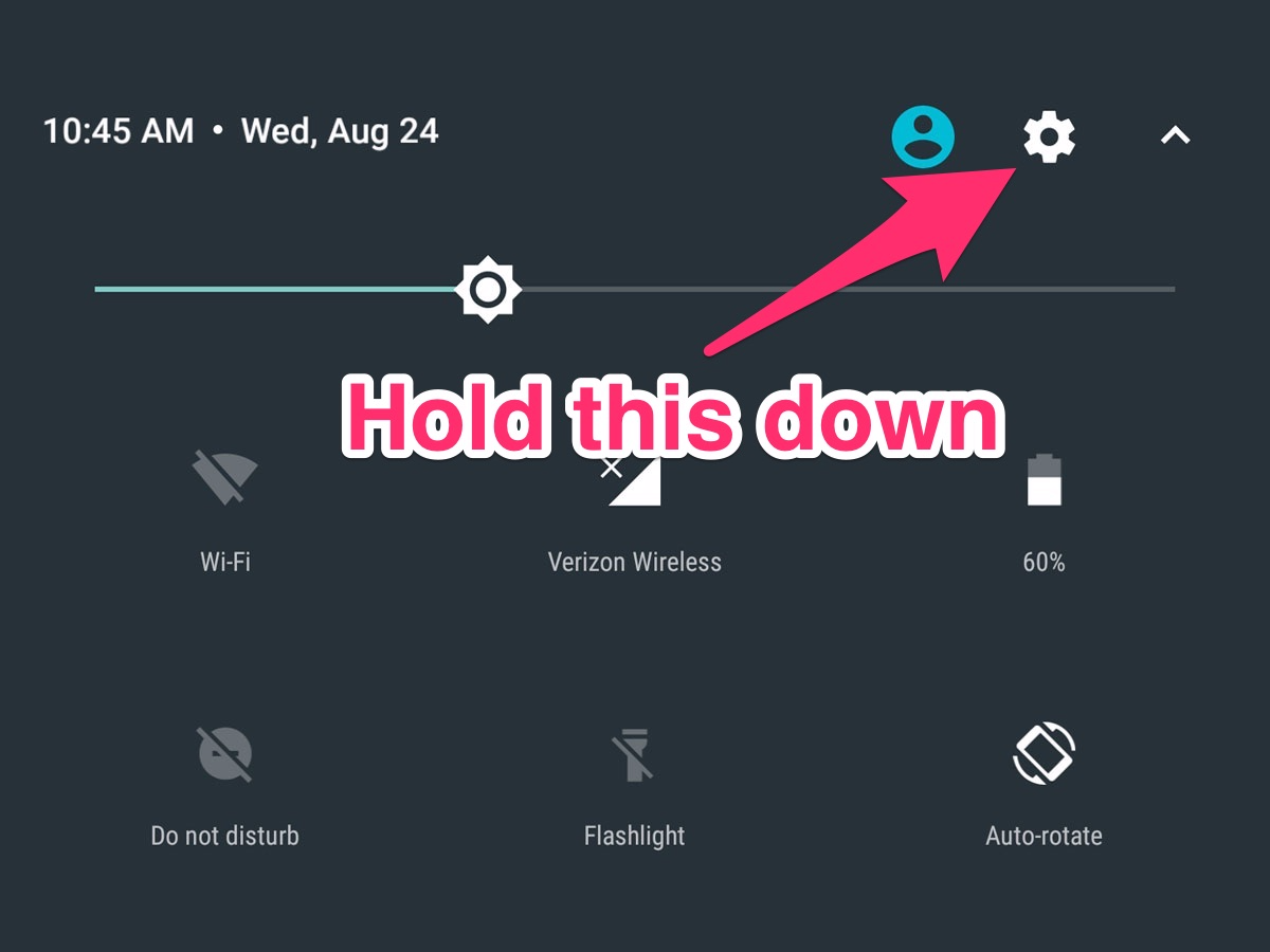 There's a hidden menu in Android that lets you unlock