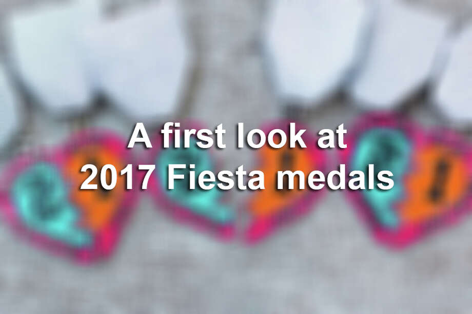 Cascarones haven't been cracked yet, but Fiesta medal maniacs are already on pins and needles waiting to get their hands on the coveted pieces of wearable art. Here;s a first look at 2017 Fiesta medals. Photo: Instagram, Facebook