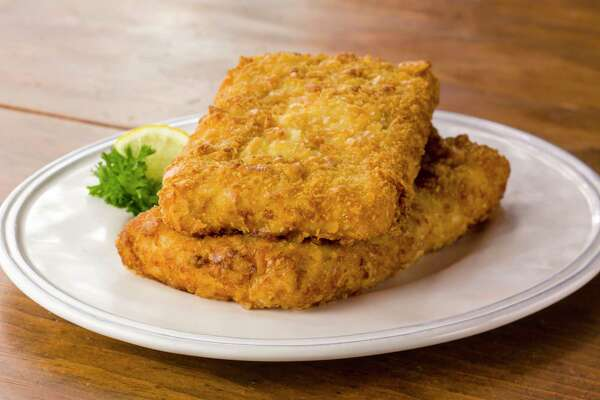 Luby's has begun selling fried fish in the freezer section of Texas H-E-B stores. It has been a popular entree item in the cafeteria line for decades.