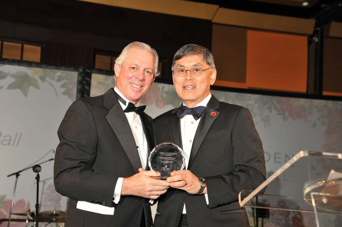 Memorial Hermann CEO, Dr. Benjamin Chu (right) announced his resignation Monday, effective immediately.