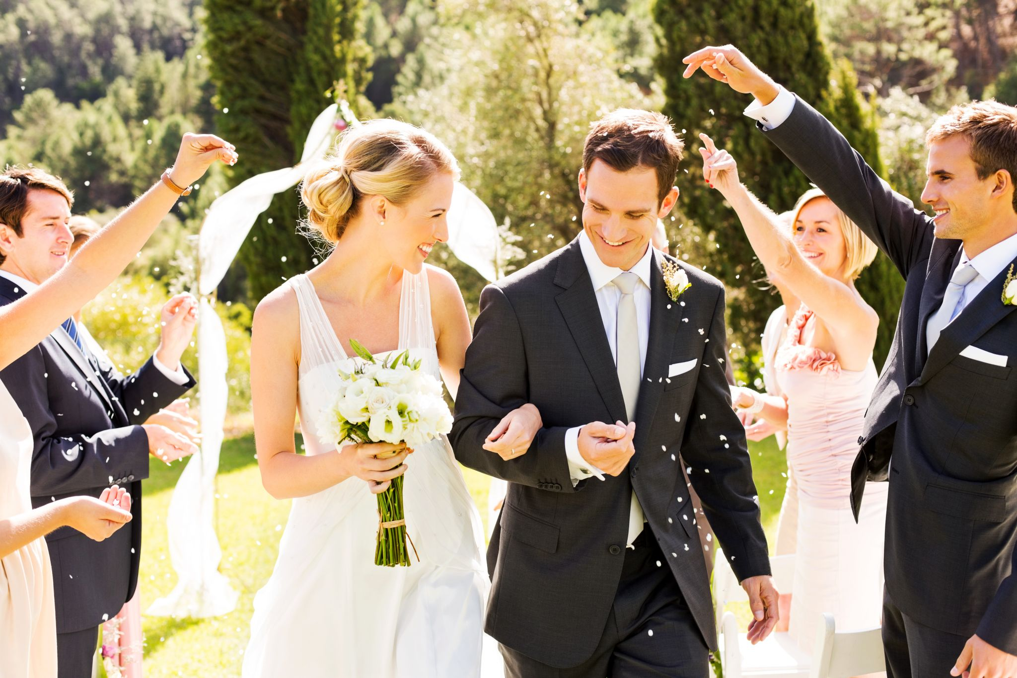 14 wedding traditions you'll find only in the South