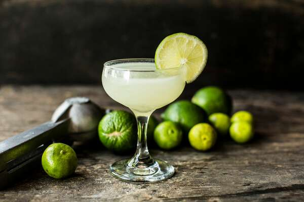 The house margarita at the Pastry War is made with blanco tequila, fresh key and Persian lime juice, and agave nectar.