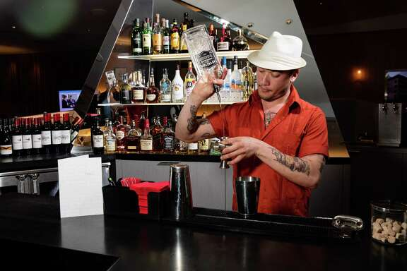 Jesse Vida, the head bartender at Manhattan's popular, Cuban-inspired BlackTail. Virgin Atlantic offers cocktails courtesy of New York bars such as BlackTail at some of its Clubhouse lounges.