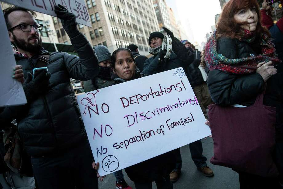 The arrests of hundreds of undocumented immigrants in multiple states will result in more, not less, disorder. Photo: Drew Angerer /Getty Images / 2017 Getty Images