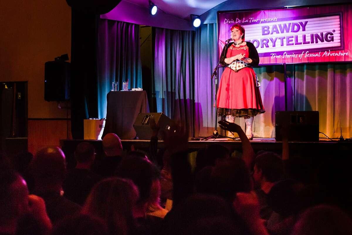 Dixie De La Tour at�Bawdy Storytelling.