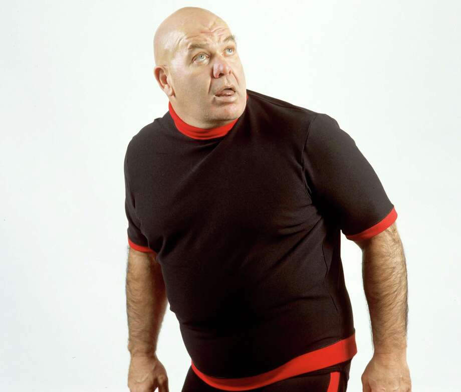 """George """"The Animal"""" Steele was a despised villain in the wrestling ring and a beloved coach on the football field. Photo: WWE"""