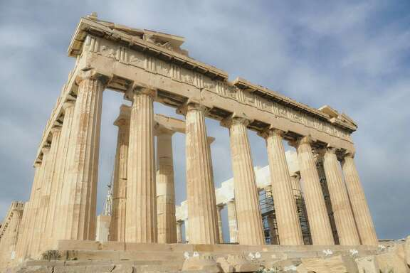 """The Parthenon was a """"billboard"""" for ancient Athenians.  in Athens, Greece. (Donald Munro/Fresno Bee/TNS)"""