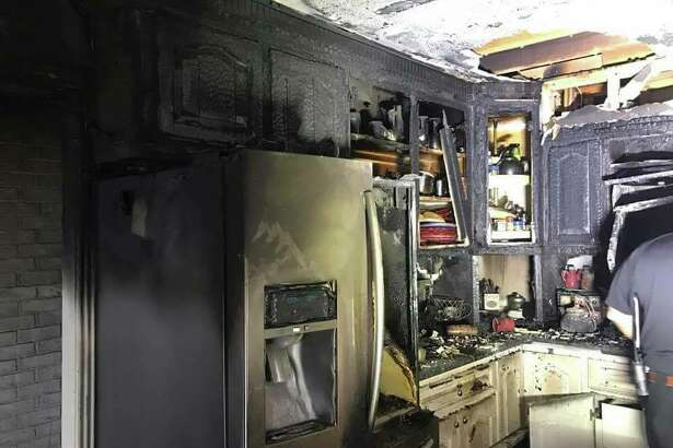 A Dickinson family lost a pet to smoke inhalation during a fire that started in the kitchen of their home on Feb. 17, 2017.