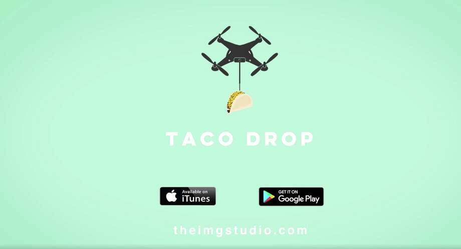 Innovative Multimedia Group, known as The IMG Studio, basically got the hopes of San Antonio taco-lovers all the way up with their latest video for Taco Drop, a drone delivery service. Photo: The IMG Studio