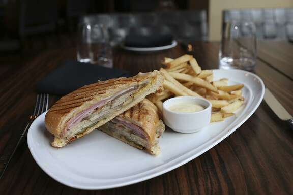 The Cuban sandwich at Nao Latin Gastro Bar