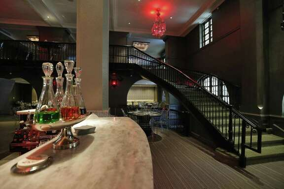 Interior of Rebelle at the St. Anthony hotel