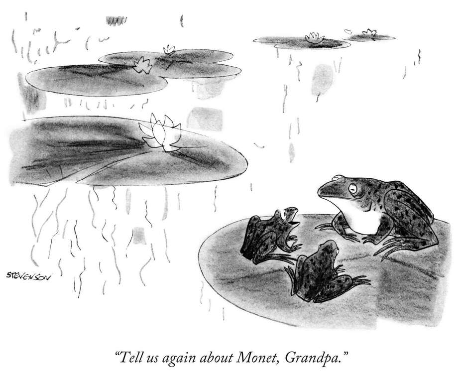 One of the hundreds of cartoons created by James Stevenson of Greenwich. Stevenson, who died Friday, was one of the New Yorker's most distinctive cartoonists. Photo: Contributed Photo/Josie Merck