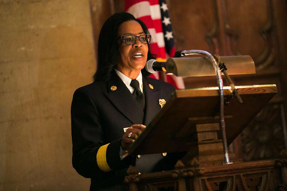 Oakland Fire Chief Teresa Deloach Reed has announced that she'll retire in May. Photo: Mason Trinca, Special To The Chronicle