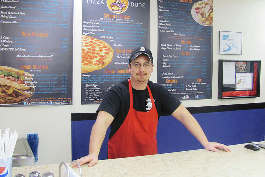 JOHN KENNETT | jkennett@mdn.net Midland native George Prokop will be managing Pizza Dude. Prokop and his family have become franchise owners of the eatery at 4328 N. Saginaw Road.