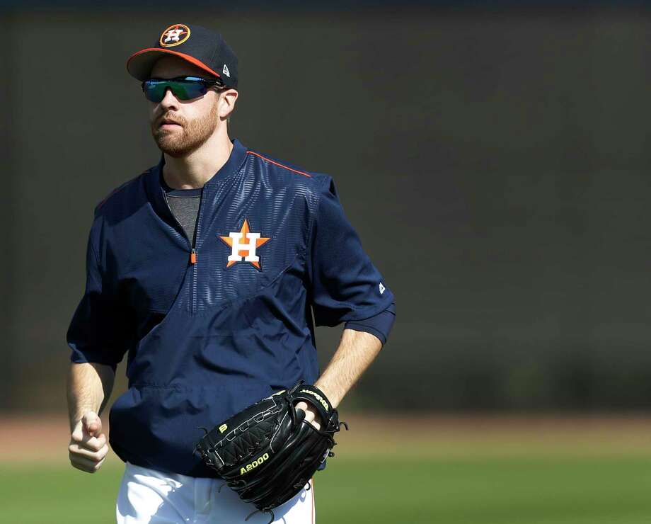 Houston Astros starting pitcher Collin McHugh (31) during spring training at The Ballpark of the Palm Beaches, in West Palm Beach, Florida, Monday, February 20, 2017. ( Karen Warren / Houston Chronicle ) Photo: Karen Warren, Staff Photographer / 2017 Houston Chronicle