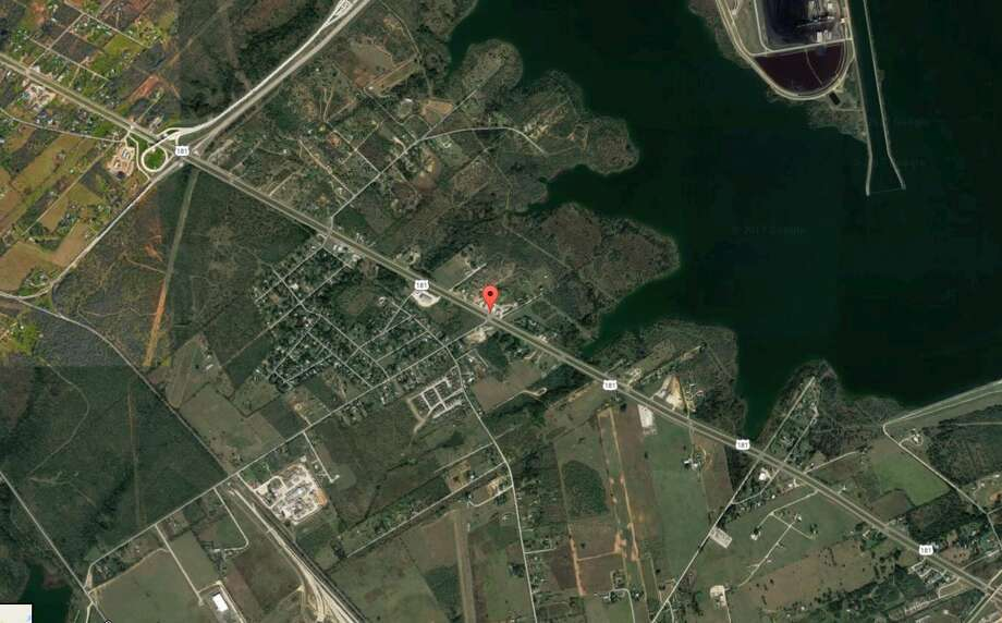 A body was found along a creek near Highway 181 and Richter Road Monday Feb. 20, 2017. Photo: Google Maps