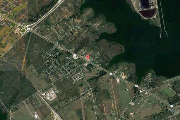 A body was found along a creek near Highway 181 and Richter Road Monday Feb. 20, 2017.