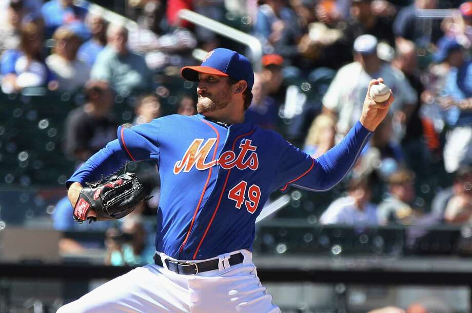 NEW YORK, NY - SEPTEMBER 14: Jon Niese #49 of the New York Mets pitches in the second inning against the Washington Nationals during the game at Citi Field on September 14, 2014 in the Flushing neighborhood of the Queens borough of New York City. (Photo by Andy Marlin/Getty Images) ORG XMIT: 477589947 Photo: Andy Marlin / 2014 Getty Images